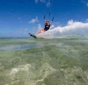 Kiteboard - Build It and you'll have fun