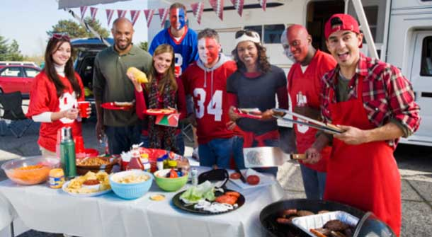 Healthy Tailgating – Yes It's Possible