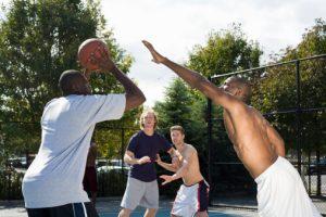 Hitting the Court Basketball