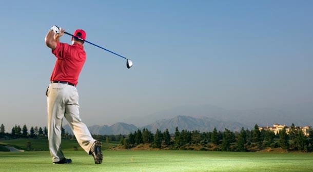 Golf - Swing Shift skills challenge