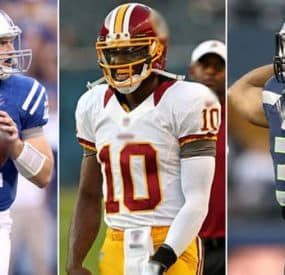 2012-2013 NFL Season Rookie Quarterbacks Report Card