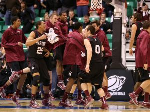 Harvard Leads Thursday's Upsets in NCAA Tourney