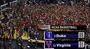 NCAA Basketball - Virginia Beats Duke, Latest in Upset Week
