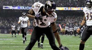 Ravens' WR Jacoby Jones Latest NFL Star on DWTS