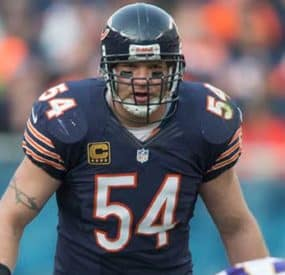 The Bears' Brian Urlacher Calls It A Career