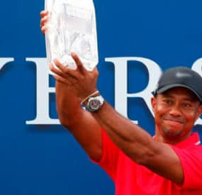 Tiger Woods Wins Players Championship