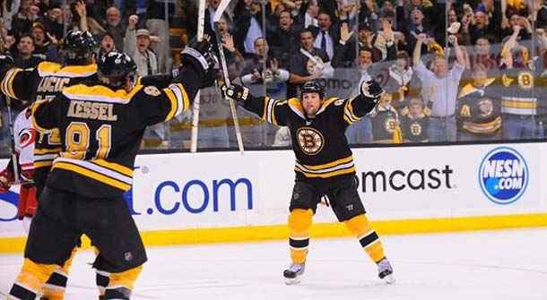 Boston Bruins Even Series; Ovechkin NHL MVP