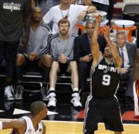 San Antonio Spurs Take Game 1 in NBA Finals