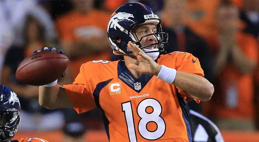 Broncos Win Rematch in NFL Season Opener; Manning Throws 7 TDs