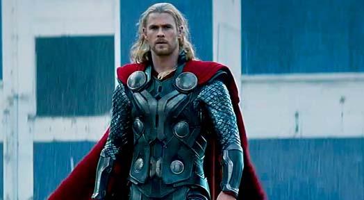 Chris Hemsworth Muscle Gain