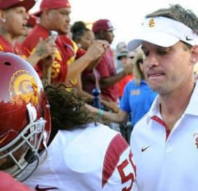 USC Fires Head Coach Lane Kiffin