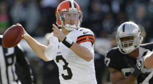 Cleveland Browns 3-2; Back To Weeden At QB