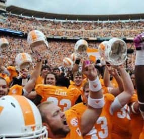 College Football SEC Saturday Upsets