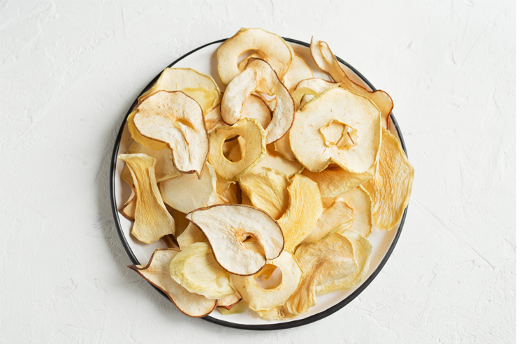 Healthy Fall Snacks - Apple Chips