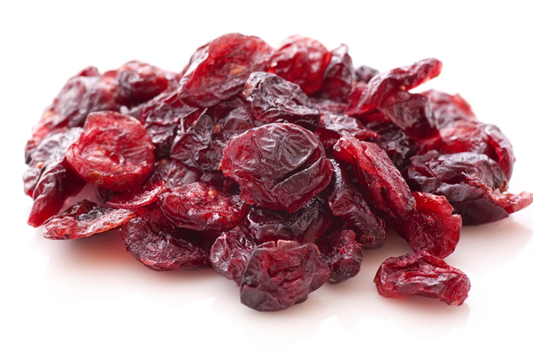 Healthy Fall Snacks - Cranberries