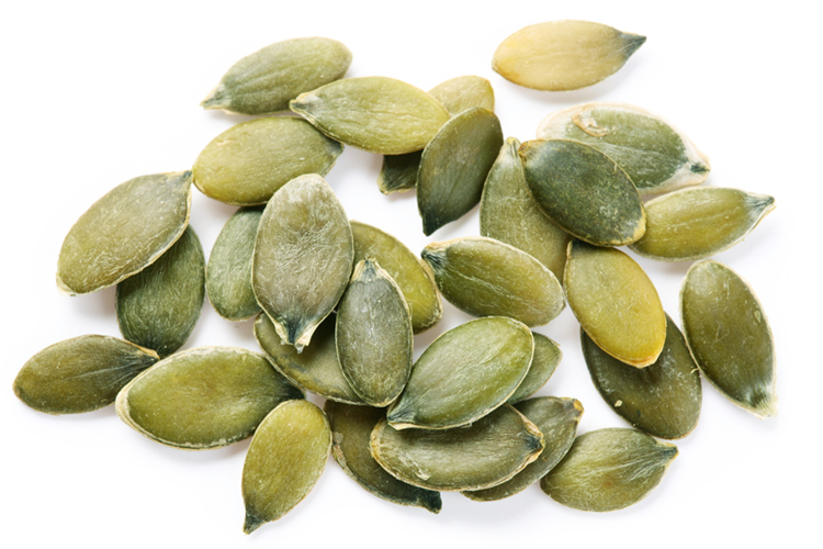 Healthy Fall Snacks - Pumpkin seeds