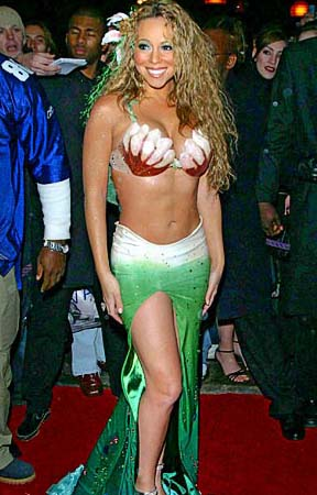 Mariah Carey Mermaid Costume