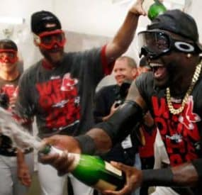 Red Sox Advance To American League Championship Series; Tigers Force Game 5