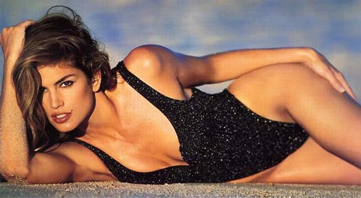 Cindy Crawford Sports Illustrated Swimsuit Model