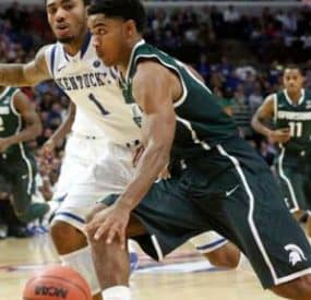 College Basketball Starts Off In Style – No. 2 MSU Beats No. 1 Kentucky