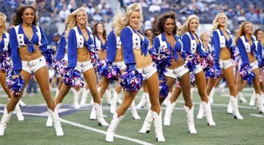 Dallas Cowboys Sexiest Cheerleaders 2013