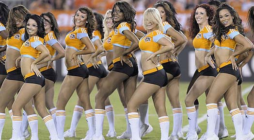 Huston Dynamo Hottest Cheerleaders