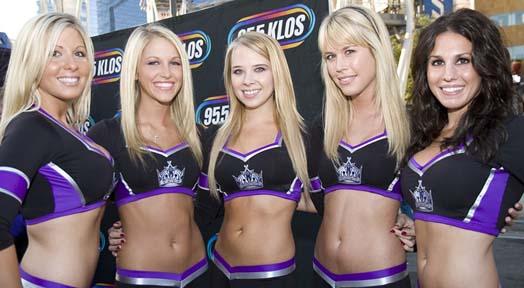 LA Kings Ice Girls