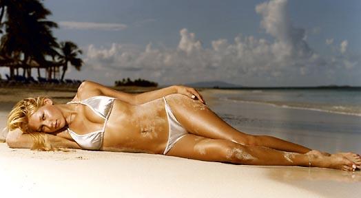 Anna Kournikova Sports Illustrated Swimsuit Model