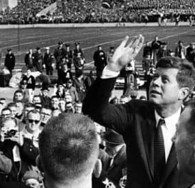 Remembering President Kennedy College Football