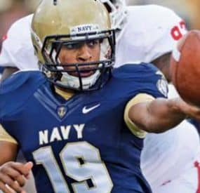 Navy QB Keenan Reynolds Scores Seven TDs, Sets Record In Win