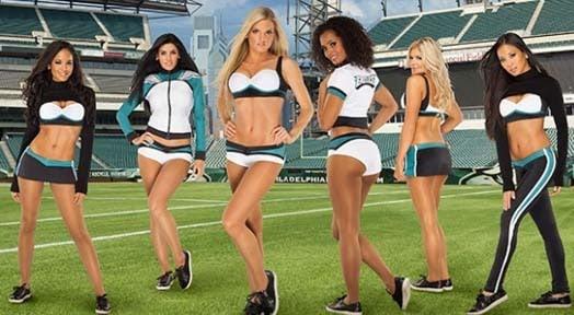 Philidelphia Eagles Hottest Cheerleaders