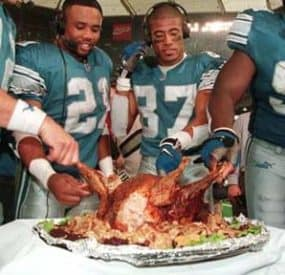 Thanksgiving and Football – An American Tradition