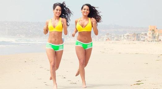 Bella Twins Sexiest MMA Divas