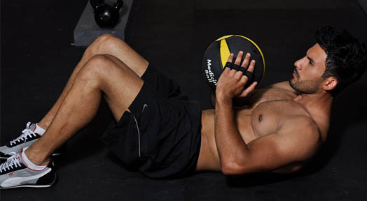 Medicine Ball Core Strength Training