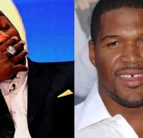 Warren Sapp Doesn't Think Michael Strahan Belongs In The Hall Of Fame