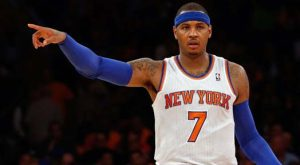 Carmelo Anthony Catches Fire Breaks Knicks Scoring Record