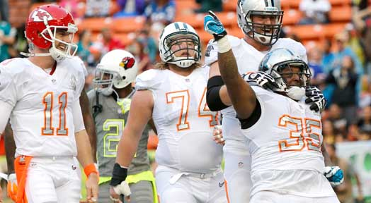 NFL Pro Bowl Gets New Look; Team Rice Wins In Last Minute