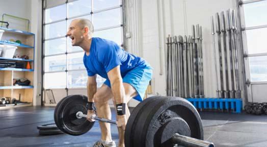Russian Deadlift Weight Training