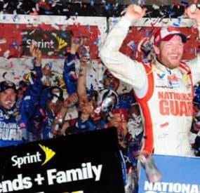 Dale Earnhardt Jr. Wins Daytona 500