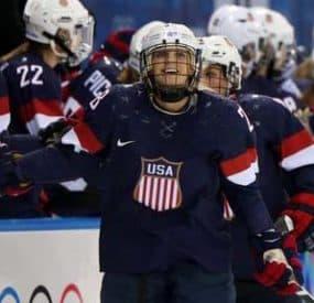 U.S. Women's Olympic Hockey Team Advances To Gold Medal Final