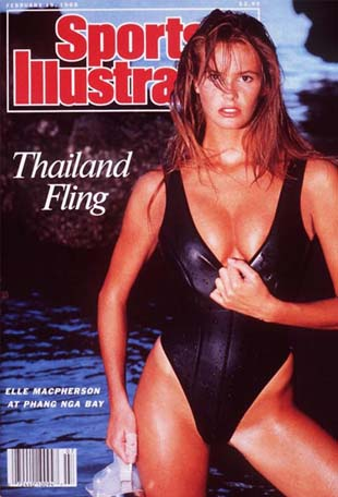 Elle MacPherson (photo Sports Illustrated)