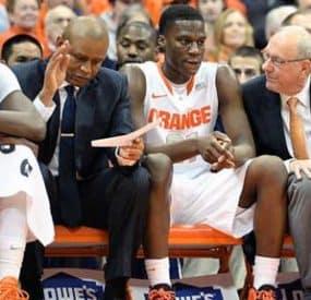 The Madness Continues at NCAA Men's Basketball Tournament: Syracuse, Villanova Out