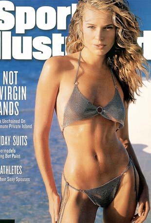 Rebecca Romijn (photo Sports Illustrated)