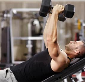 The No Barbell Chest and Triceps Workout