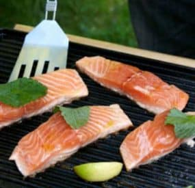 Health Fit Recipes for Men – Grilled Fish & Vegetables