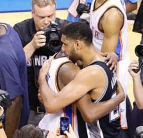 Spurs Beat Thunder To Set Up NBA Finals Rematch