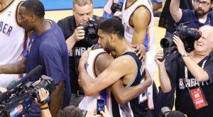 Spurs Beat Thunder To Set Up NBA Finals Rematch
