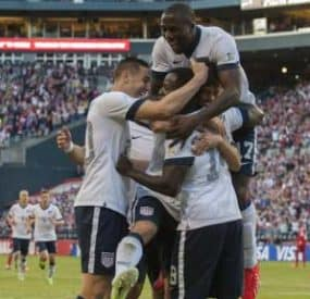U.S. Qualifies For World Cup Round Of 16