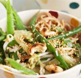 Eat Fit - Soba Snow Pea Succotash