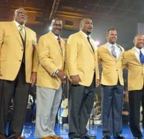 Pro Football Hall Of Fame Enshrines Seven